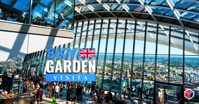 reservar entradas para sky garden en londres