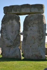 Piedra del Stonehenge en Salisbury