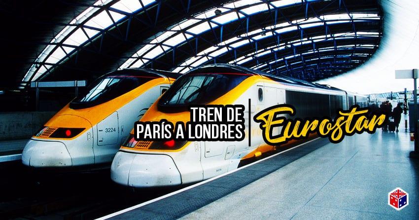 ir de londres a paris en tren eurostar