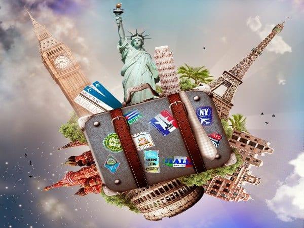 viajar por el mundo en ingles y vocabulario usado