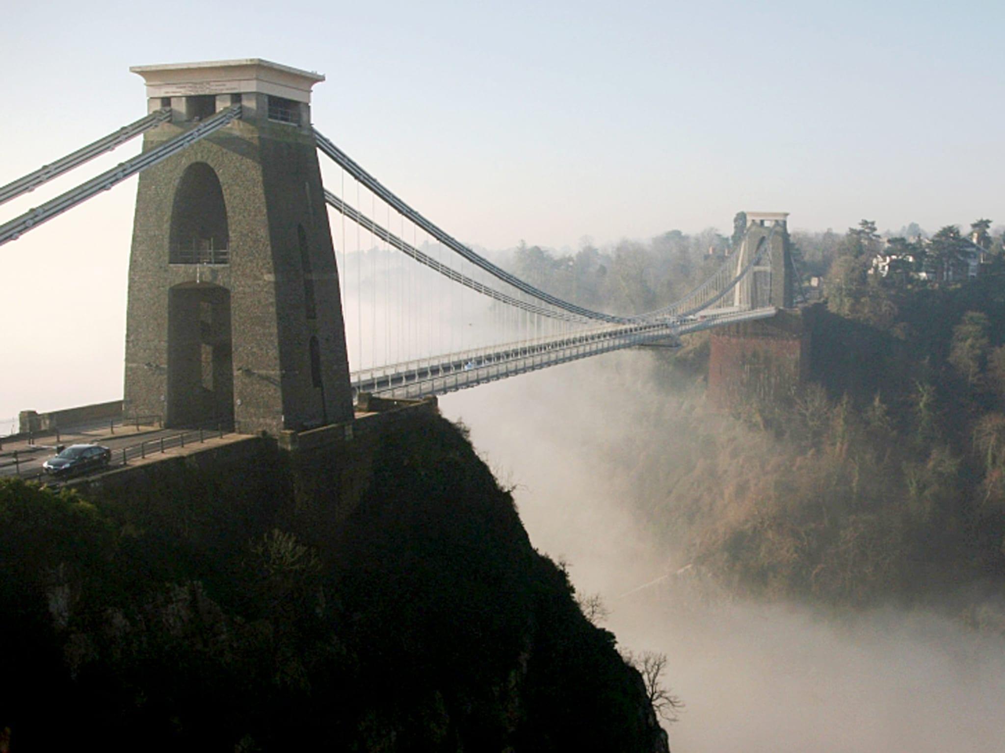 el puente colgante de bristol en 1 día