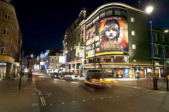 Zonas de Londres para el entretenimiento