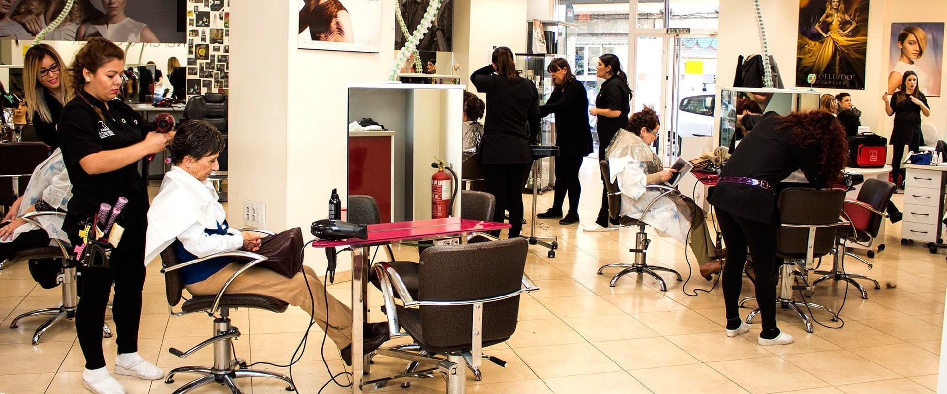 Vocabulario peluquería y estética inglés