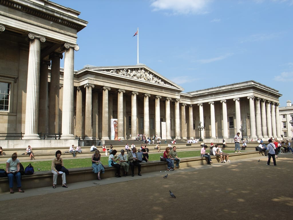 Vivir y trabajar en Londres: British Museum