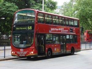 Autobús de Londres Inglaterra: Vivir o trabajar en los barrios de Londre