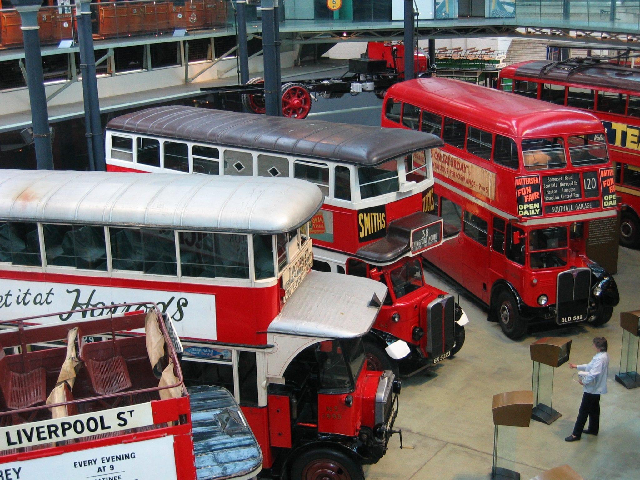 London Transport Museum museos de Londres