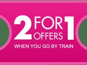 2X1 en Londres por el viaje con National Rail