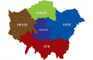 Visitar las Zonas o áreas de Londres