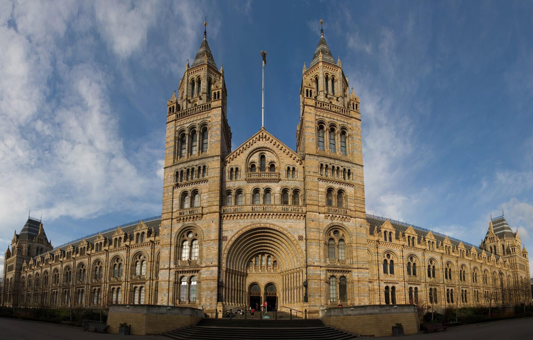 Museos de Londres. museo de historia natural