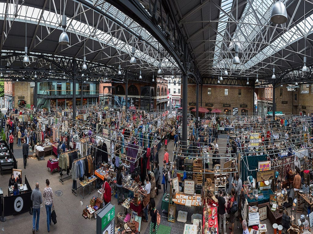 Mercadillo que ver y visitar en Londres: Old Spitalfields Market