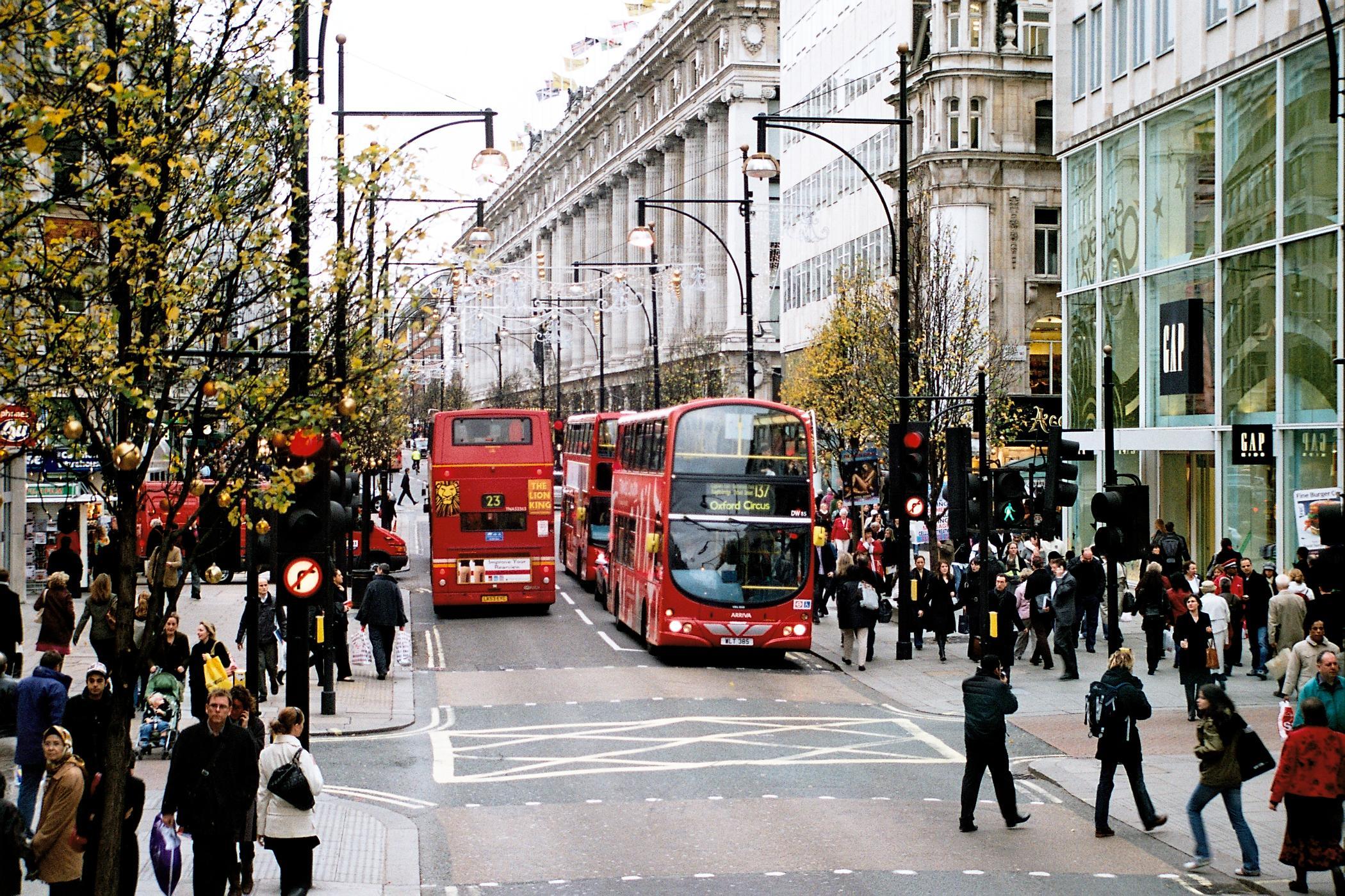 Comprar en Harrods y en Oxford Street