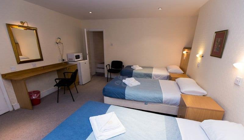 Habitación para familias en hostales de Londres