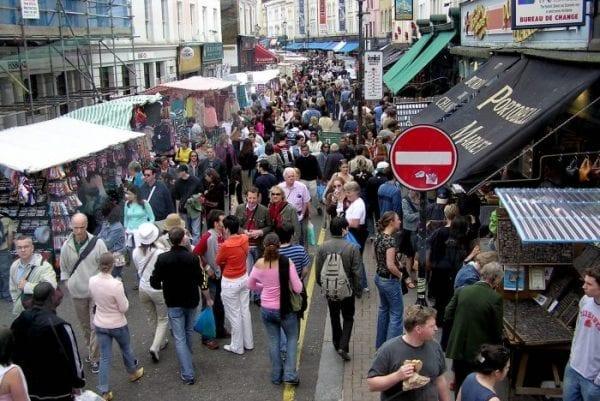 Compras en Portobello Road Market