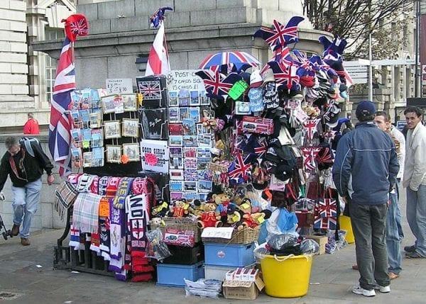 compras en Londres: souvenirs