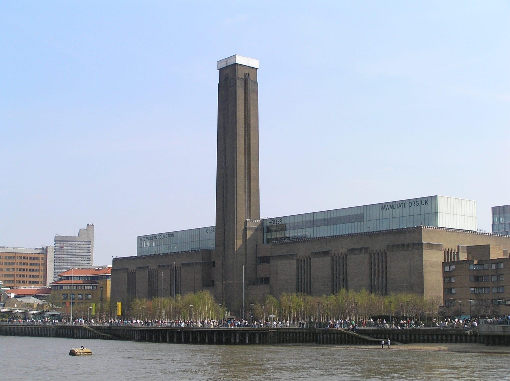 Museos de Londres Tate Modern de arte contemporáneo