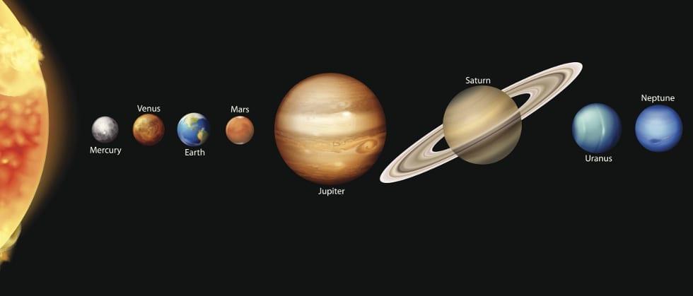 el universo en ingles vocabulario