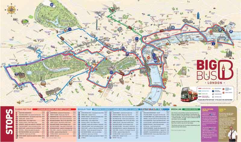 Autobús turístico Londres: Big Bus