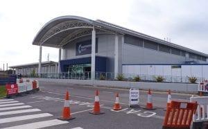 Bournemouth Airport donde aterrizan españoles y buscar trabajo en Inglaterra
