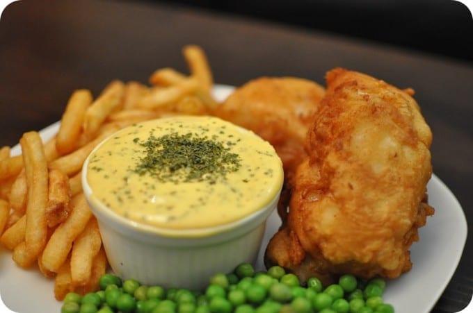 la auténtica receta del fish and chips de londres