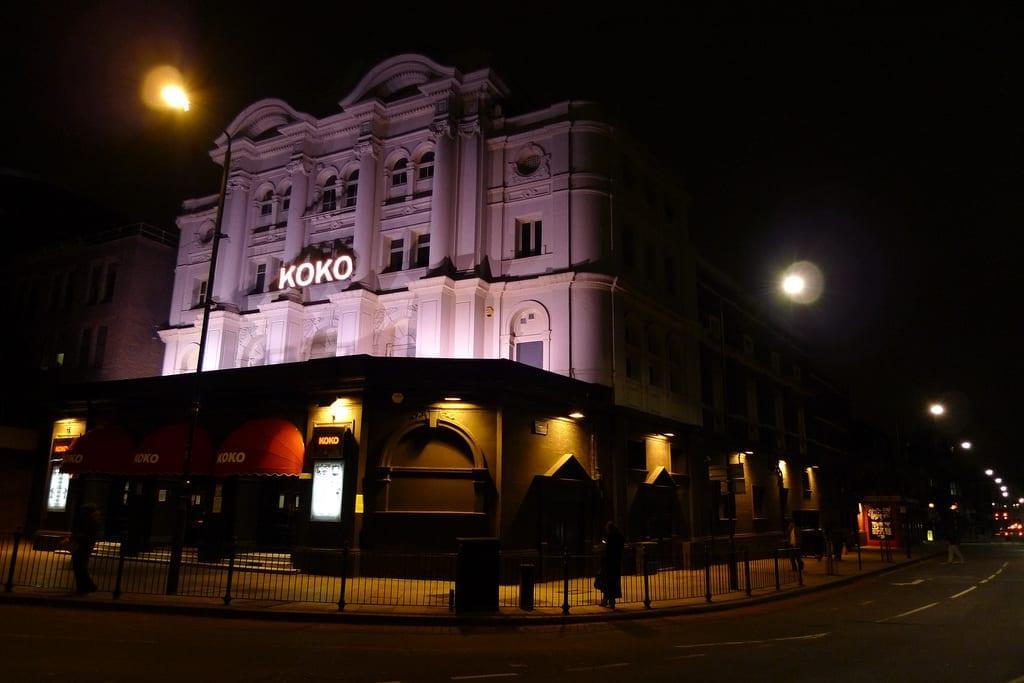 Discotecas de Londres KOKO