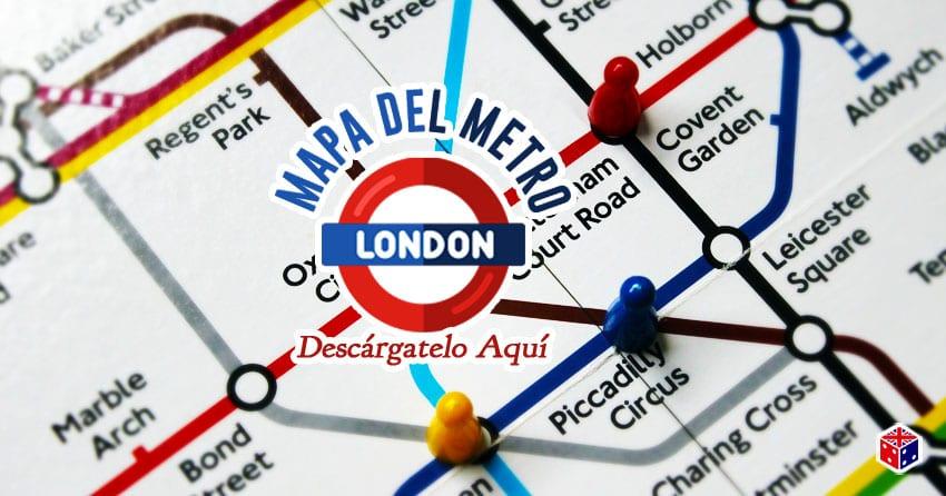 descargar el mapa del metro de londres