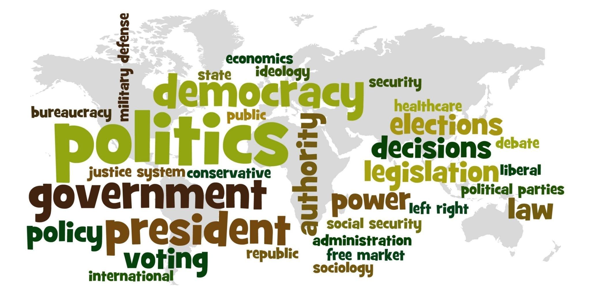 vocabulario politica inglés