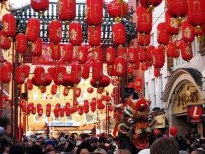 Chinatown un barrio seguros con buenas zonas en Londres