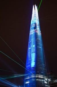 paseo por Londres de noche