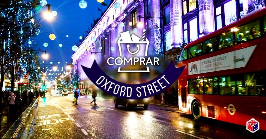 calle de tiendas oxford street en londres