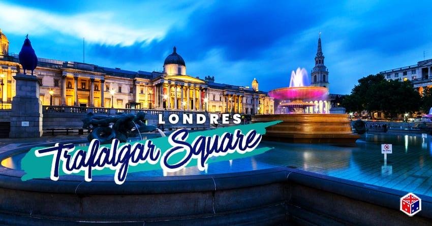 ver la plaza trafalgar square londres