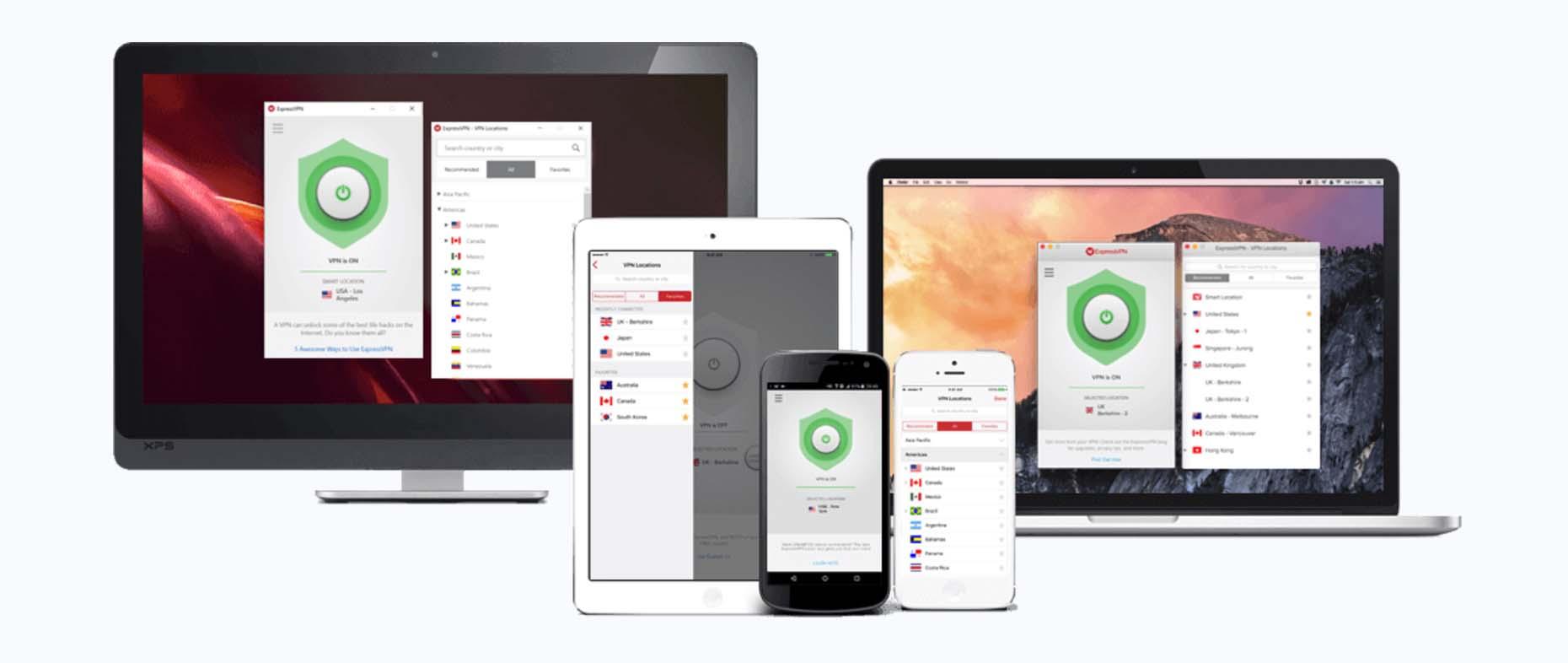 Servidor online con Express VPN