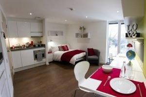Habitación en residencias de estudiantes en Londres