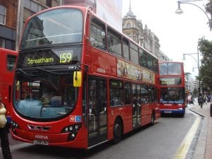 Moverse en metro y autobús de Londres