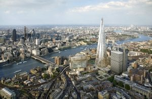 Zonas del centro de Londres