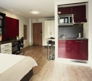 Habitación alojamiento residencias universitario para estudiantes en Londres