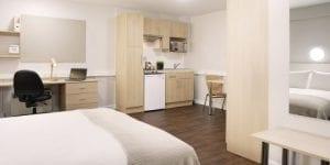 Estudio Habitación residencias de estudiantes baratas en Londres