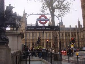 Horario del Palacio de Westminster de Londres