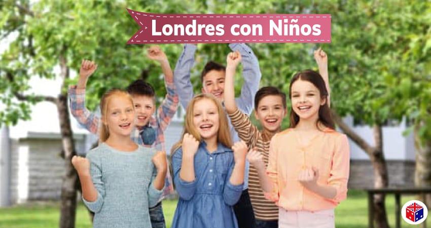 Viajar y visitar londres con niños
