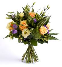 ramo de flores en pasiva en ingles