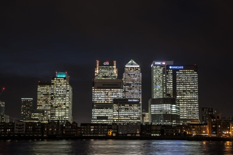 barrios de Londres: Canary Wharf