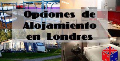 Opciones de Alojamiento en Londres
