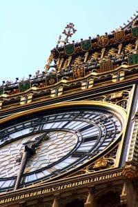Detalle del Big Ben
