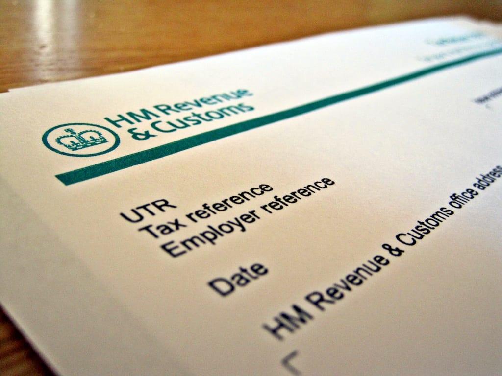 Documentos de trabajo y HMRC Inglaterra