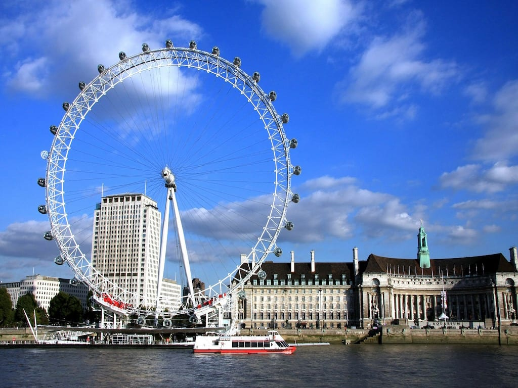 Lugares de interés famosos de Londres