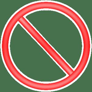 Artículos prohibidos que no se pueden mandar en las cajas