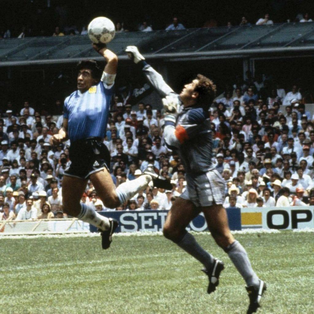 tercer condicional - Maradona y la mano de Dios