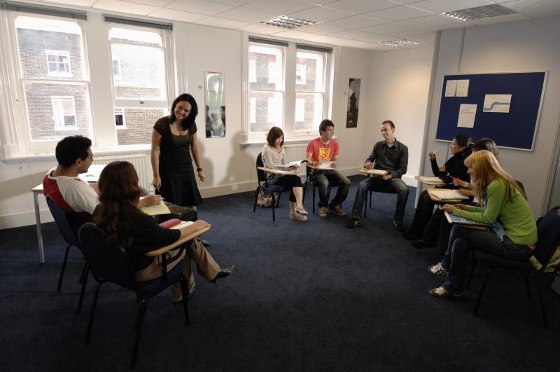 Estudiar en el centro en una academia de inglés en Londres