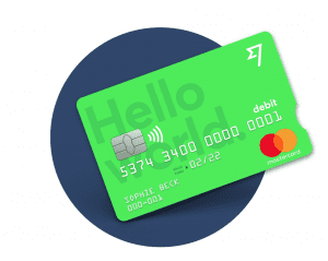 Tarjeta de la cuenta Borderless de TransferWise