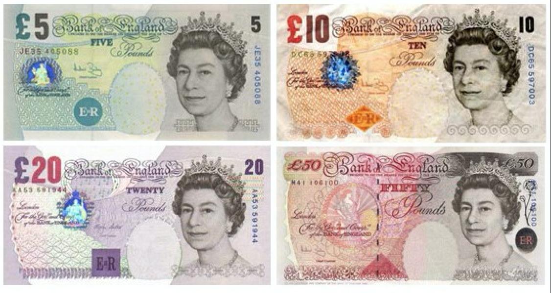 Moneda del Reino Unido: Moneda y divisa de Inglaterra, libras