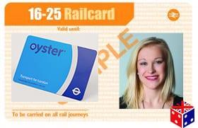Usar la 16-25 Railcard con la Oyster card en el metro